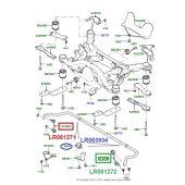 Bucha da Barra Estabilizadora Traseira - Land Rover Discovery Sport 2015 > - LR063934 - Marca Eurospare (Unitario)