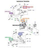 Bucha Inferior da Manga de Eixo - Land Rover Discovery 3 2004-2009 / Range Rover 2002-2012 / Range Rover Sport 2005-2009 - RBK500220 LR032644 - Marca Bearmach