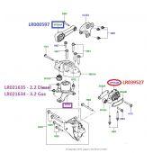Coxim Inferior do Motor 3.2 Gas - Land Rover Freelander 2 3.2 V6 Gas 2007-2012 - LR021634 - Marca Britpart