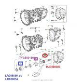Flange do Eixo da Caixa de Marchas (Motor Puma) - Land Rover Defender 2007-2011 - LR030054 LR006090 - Marca Britpart