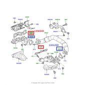 Junta do Coletor de Escape Land Rover Discovery 3 e 4 Diesel 2.7 3.0 TD6 / Range Rover Sport Diesel 2.7 e 3.0 TD6 - 1336543 - Marca Bearmach