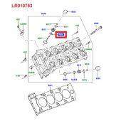 Kit 8 Retentores da Valvula do Motor 5.0 V8 - Land Rover Discovery 4 5.0 V8 Gas 2010-2016 / Range Rover 5.0 V8 Gas 2010-2012 - LR010753 - Marca Corteco