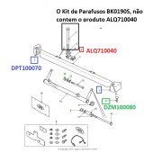 Kit de Parafusos do Parachoque (Aço Inoxidavel) - Land Rover Defender - BK0190S - Marca Bearmach