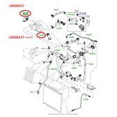 Mangueira do Sistema de Refrigeracao Motor 3.6 - Land Rover Range Rover 3.6 V8 32V 2002-2012 / Range Rover Sport 3.6 V8 2005-2013 - LR008237 - Marca Allmakes (Unitario)