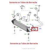 Reparo do Tubo do Intercooler (Sem o Tubo de Metal) LD ESquerdo - Land Rover Freelander 2 Diesel 2007-2014 - LR041819 - Marca Britpart