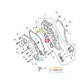 Retentor Dianteiro do Virabrequim (Bomba de Oleo) - Land Rover Defender 300TDI 1987-2006 / Discovery 1 1994-1998 - ERR4575G - Marca Corteco