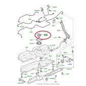 Tampa do Tanque de Combustivel - Land Rover Discovery 4 3.0 V8 e 5.0 V8 2010-2014 / Range Rover Sport 5.0 V8 2010-2013 - LR043420 - Marca VDO