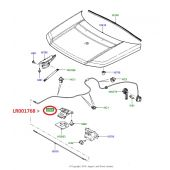 Trava Superior do Capo - Land Rover Freelander 2 2007-2014 - LR001768 - Marca Land Rover