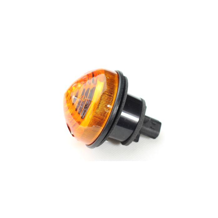 Lanterna Seta Dianteira Ambar (Laranja) Com Soquete Land Rover Defender 1995-2006 - XBD500040 LR048188  - Marca Wipac