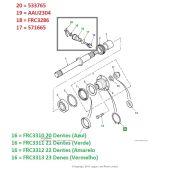 Pinhao do Velocimetro - Land Rover Defender - FRC3310 - Marca Bearmach