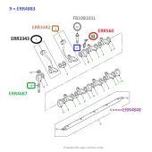 Parafuso de Regulagem das Valvulas do Motor 300TDI 1987-2006 - Land Rover Defender / Discovery 1 300TDI 1989-1998 - ERR4883 - Marca Allmakes