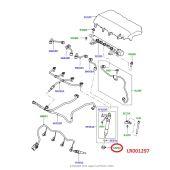Retentor dos Bicos Injetores - Motor 2.2 Diesel - Land Rover Freelander 2 2.2 / Evoque 2.2 16V 2012 > / Discovery Sport 2.2 16V 2015 > - LR001297 - Marca Land Rover