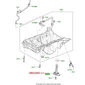Sensor de Nivel de Oleo (Coletor) - Land Rover Discovery 4 5.0 V8 Gas e 3.0 V6 Diesel / Range Rover 4.4 Diesel e 5.0 Gas 2002-2012 - LR012640 - Marca Hella