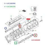 Retentor Traseiro do Virabrequim - Land Rover Freelander 1 2.5 V6 Gas 2001-2006 - LUC100220L - Marca Corteco