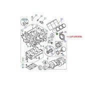 Retentor Traseiro do Virabrequim - Land Rover Freelander 2.5 V6 2001-2006 - LUF100300L - Marca Reinz