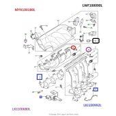 Retentor do Coletor de Admissao - Land Rover Freelander 1 2001-2006 - LWF100090L - Marca Allmakes PR2