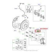 Kit Pino e Retentor da Pinca de Freio Dianteiro - Land Rover Discovery 3 e 4 2005-2014 / Range Rover 2002-2009 / Range Rover Sport 2005-2009 - SEE500020 - Marca Evo