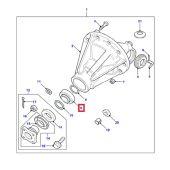 Rolamento Externo do Pinhao do Diferencial Traseiro (Saida) - Land Rover Defender 2003-2010 - STC2808 - Marca Timken