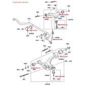 Pivo do Braço Superior da Suspensão Dianteira Land Rover Discovery 3 2004-2009 / Discovery 4 2010-2014 - RBK500170D - Marca Delphi