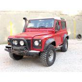 """Kit Alargador de Paralamas - 2"""" Maior que o Original (Parafusado na Lateral do Paralamas) -  Land Rover Defender - TF110 - Marca Terrafirma"""