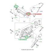 O Ring de Vedação do Diferencial Dianteiro - Land Rover Discovery 3 2005-2009 / Discovery 4 2010-2014 / Range Rover Sport 2005-2013 - TYX500040 - Marca Land Rover